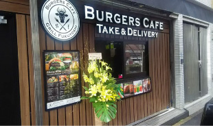 Burgers Cafe Take & Delivery バーガーズカフェ テイクアウト&デリバリー 新宿店
